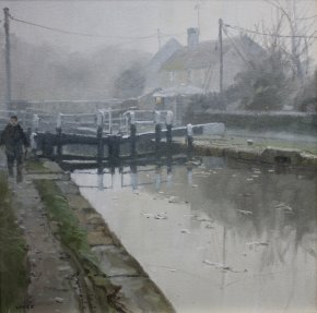 Morning Mist a limited edition print by John Lines