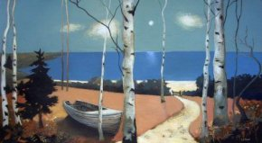 Under A Summer Moon a limited edition print by Lesley McLaren