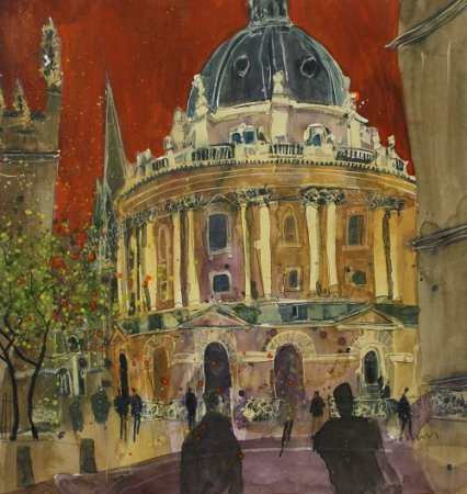 Buy Radcliffe Camera, Oxford - art print by artist Susan Brown