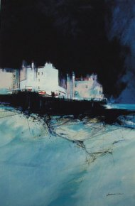 Harbour Bar, East Neuk a limited edition print by James Somerville