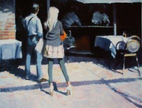 Time For a Drink a limited edition print by David Farrant