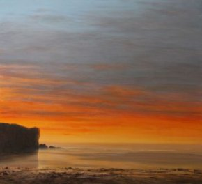 Llangrannog Sunset a limited edition print by Ceri Auckland Davies