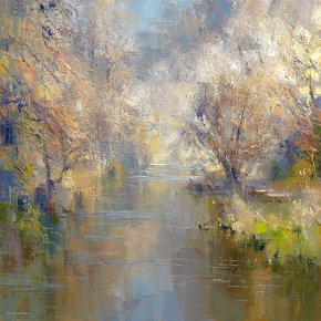 Early Spring a limited edition print by Rex Preston