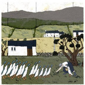 The Blorenge a limited edition print by David Day
