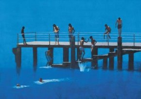 Pier Passignano a limited edition print by Peter Nardini