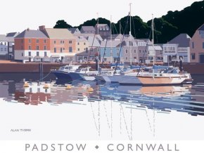 Padstow Harbour a limited edition print by Alan Tyers