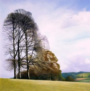 February Morning in Lanhydrock Park a limited edition print by Annie Ovenden