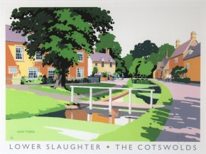 Lower Slaughter a limited edition print by Alan Tyers