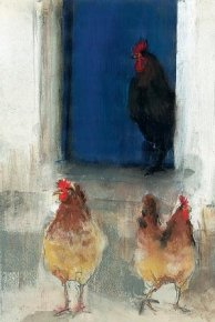 Morning Ladies a limited edition print by Madeleine Floyd