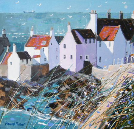 Buy Morning Sunlight Pittenweem - art print by artist Deborah Phillips