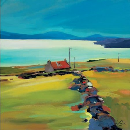 Buy Dyke on the Holding - art print by artist Pam Carter