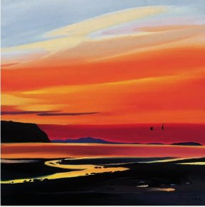 Waterloo Sunset a limited edition print by Pam Carter