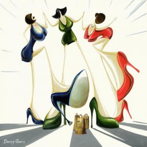 Dancing Queens a limited edition print by Adam Barsby