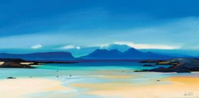 Shoreline to Rum a limited edition print by Pam Carter