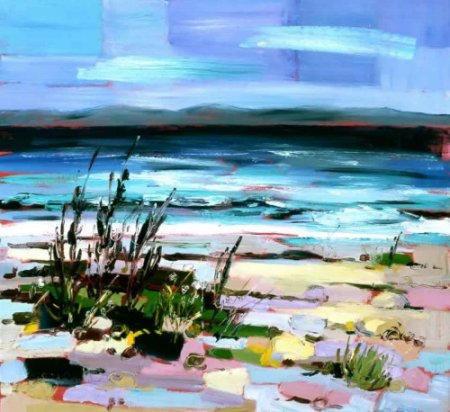 Buy Catacol Bay, Arran - art print by artist Judith Bridgland