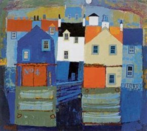 Sea Town a limited edition print by George Birrell