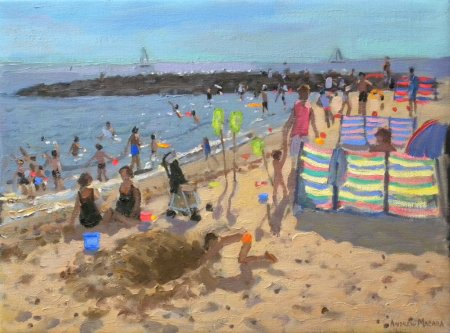 Buy Wind Breaks - art print by artist Andrew Macara