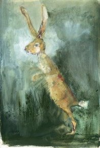 March Hare a limited edition print by Madeleine Floyd