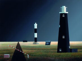 Dungeness a limited edition print by Michael Kidd