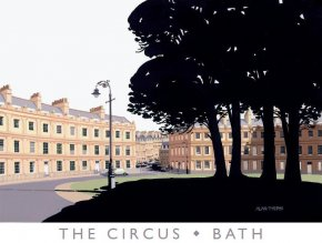 The Circus, Bath a limited edition print by Alan Tyers