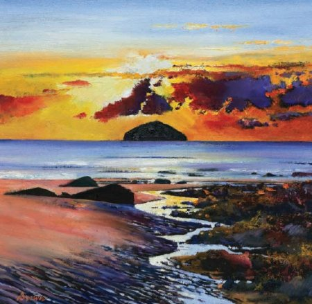 Buy Ailsa Craig - art print by artist Davy Brown