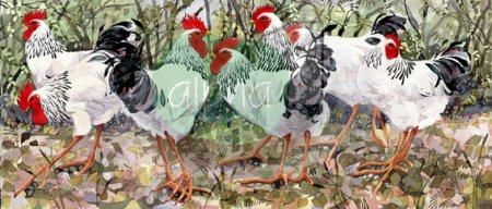 Buy Woodlanders - art print by artist Mary Ann Rogers