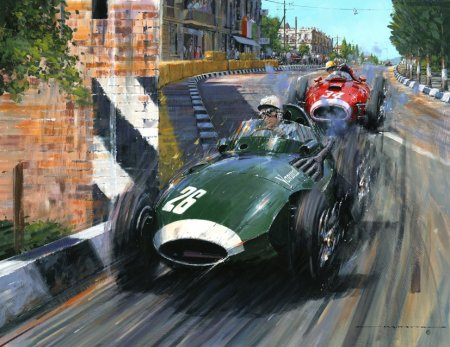 Buy Grand Prix of Pescara - art print by artist Nicholas Watts