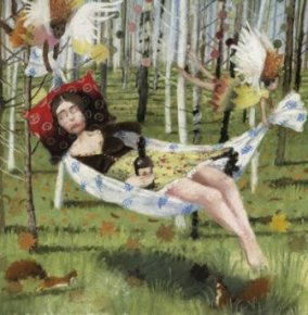 Away With The Fairies a limited edition print by Richard Adams