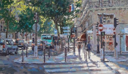 Buy Summer Light, Paris - art print by artist David Farren