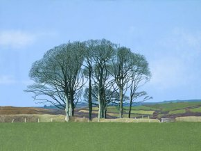 Wenmouth Cross a limited edition print by Annie Ovenden
