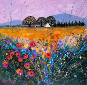 Late Harvest Poppies a limited edition print by Deborah Phillips