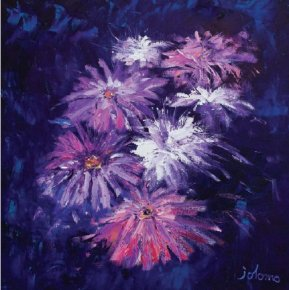 Big Blooms a limited edition print by John Lowrie Morrison
