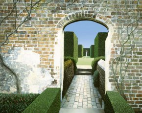 Sissinghurst a limited edition print by Michael Kidd