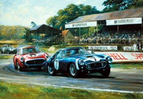 Goodwood Victory a limited edition print by Alan Fearnley
