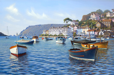 Buy Salcombe Harbour - art print by artist Brett Humphries