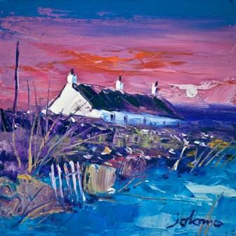 Buy Evening Gloaming Easdale Island - art print by artist John Lowrie Morrison