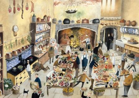 Buy His Lordships Supper - art print by artist Richard Adams