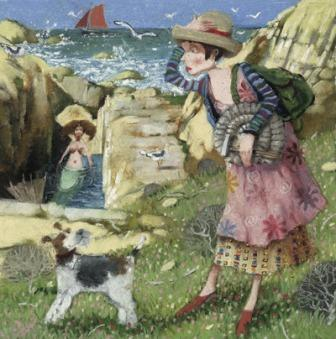 On The Rocks - Limited edition print and art print by Richard Adams