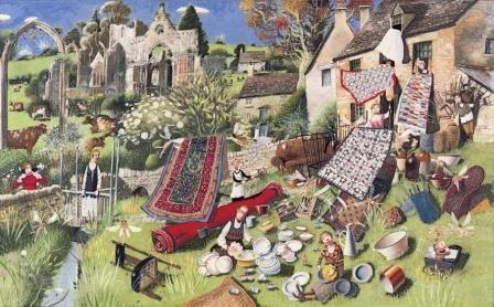 Buy Spring Clean - art print by artist Richard Adams