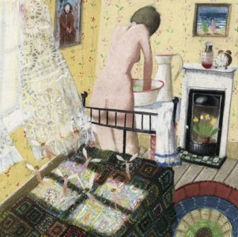 Buy Sunny Little Room - art print by artist Richard Adams