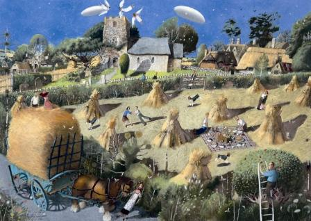 Buy The Summer Wore On - art print by artist Richard Adams