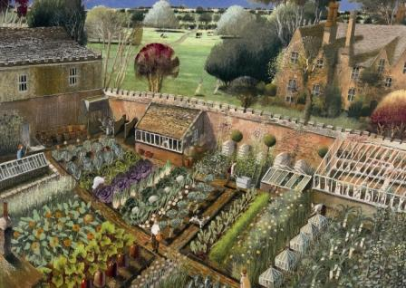 Marvelous Richard Adams Vegetable Garden Limited Edition Prints Download Free Architecture Designs Jebrpmadebymaigaardcom